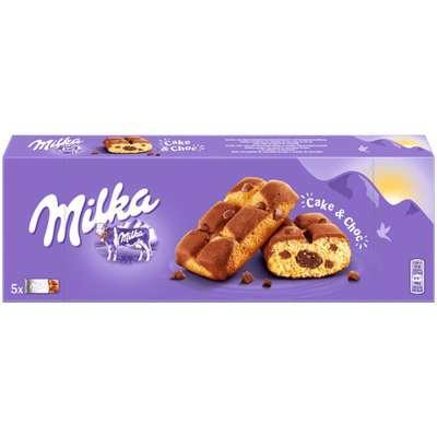 Бисквитные кексы с шоколадной начинкой Milka Cake & Choc 175 гр, фото 1