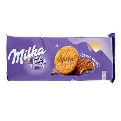 Овсяное печенье облитое молочным шоколадом Milka Choco Grains 126 гр, фото 1