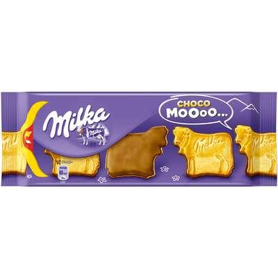 Печенье в виде коровки с шоколадом Milka Choco Moo 120 гр, фото 1