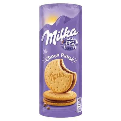 Сэндвич из печенья с шоколадом Milka Choco Pause 260 гр, фото 1