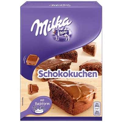 Смесь для приготовления тортика Milka Sckokuchen 215 гр, фото 1