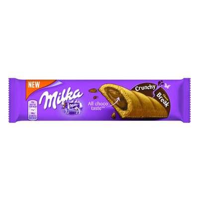 Батончик шоколадного бисквита с шоколадным кремом Milka Tender Break Choco 26 гр, фото 1