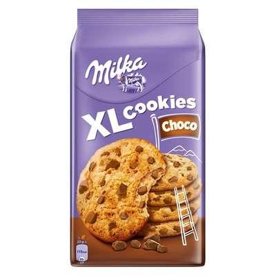 Печенье с кусочками шоколада Milka XL Cookies Choko 184 гр, фото 1