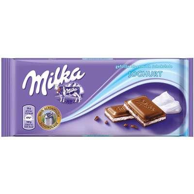 Молочный шоколад с нежным йогуртом Milka Youghurt 100 гр, фото 1