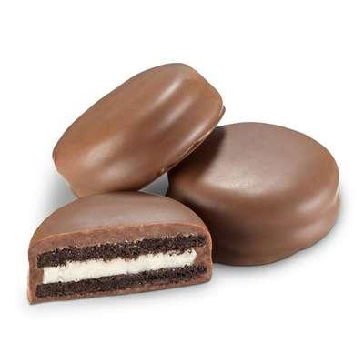 Печенье с ванильной начинкой в молочном шоколаде Oreo Choc Milk 246 гр, фото 2