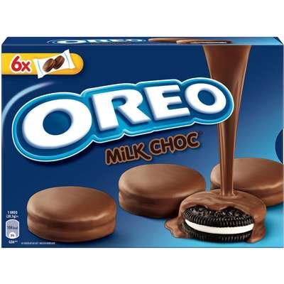 Печенье с ванильной начинкой в молочном шоколаде Oreo Choc Milk 246 гр, фото 1