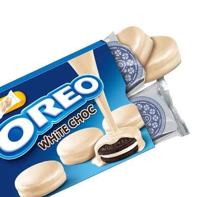 Печенье с ванильной начинкой в белом шоколаде Oreo Choc White 246 гр, фото 2