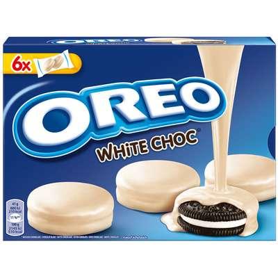 Печенье с ванильной начинкой в белом шоколаде Oreo Choc White 246 гр, фото 1