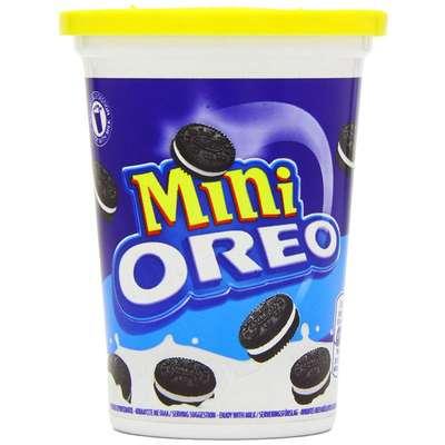 Стаканчик классического мини печенья Oreo Mini 115 гр, фото 1