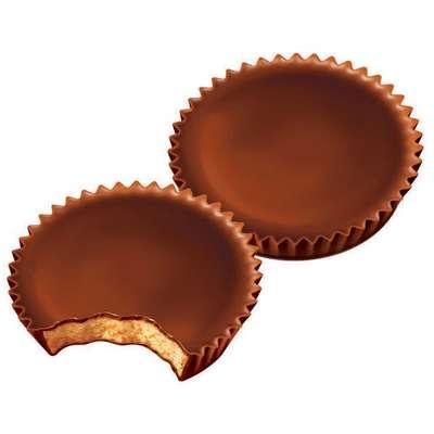 Шоколадные тарталетки с арахисовой пастой Reese's Peanut Butter Cups 51 гр, фото 2