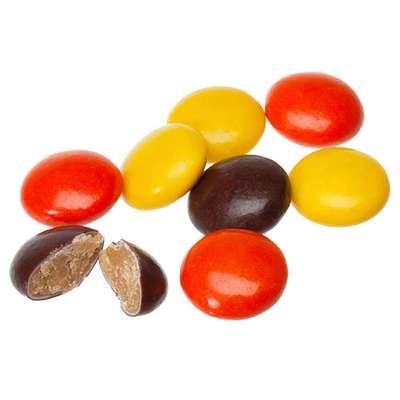 Шоколадное драже с арахисовой пастой в глазури Reese's pieces 43 гр, фото 2