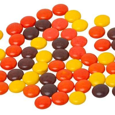 Шоколадное драже с арахисовой пастой в глазури Reese's pieces 43 гр, фото 4
