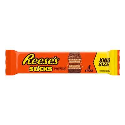 Вафли с арахисовой начинкой Reese's Sticks King Size 85 гр, фото 1