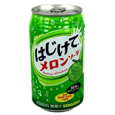 Sangaria Melon Газированный напиток со вкусом дыни 350 мл, фото 1