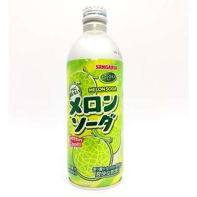Sangaria Hajikete Melon Газированный напиток со вкусом дыни 500 мл, фото 1