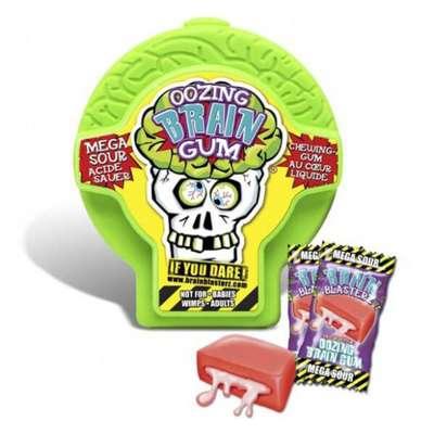 Жевательная резинка Brain Blasterz Oozing Brain Gum 30 гр, фото 3