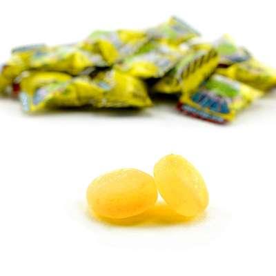 Самые кислые леденцы желтая банка 4 вкуса Brain Blasterz 48 гр, фото 6