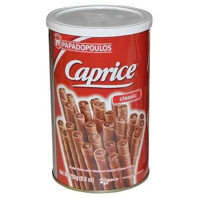 Вафельные трубочки венские с фундуком и шоколадным кремом Caprice 115 гр, фото 1