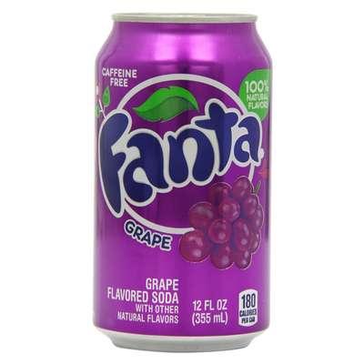 Fanta Grape банка 355 мл, фото 1