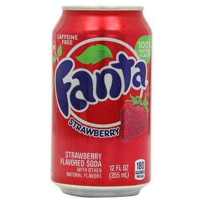 Fanta Strawberry банка 355 мл, фото 1