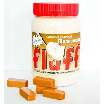 Карамельный маршмеллоу в банке Fluff Caramel 213 гр, фото 2