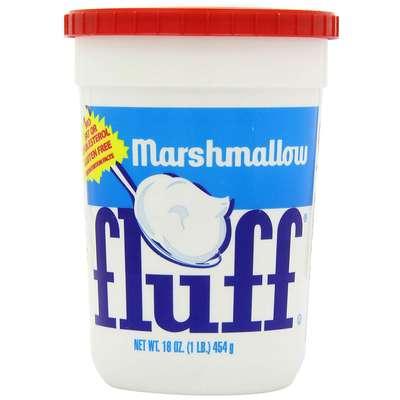 Кремово-ванильный маршмеллоу в большой банке Fluff Vanilla 454 гр, фото 1