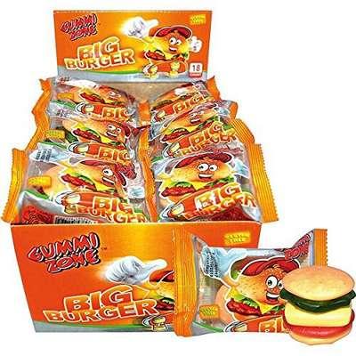 Мармелад Большой Бургер Gummi Zone Big Burger 32 гр, фото 2