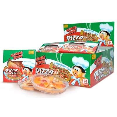 Мармелад Большая Пицца Gummi Zone XXL Pizza 23 гр, фото 3