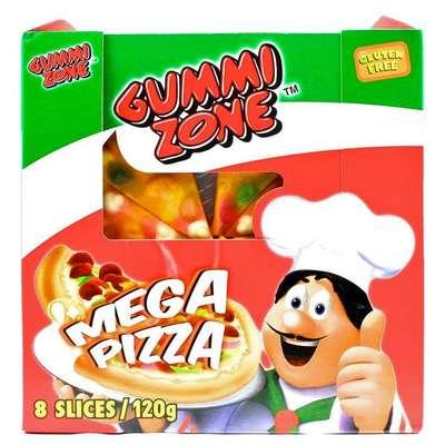 Мармелад Мега Пицца Gummi Zone Mega Pizza 120 гр, фото 1