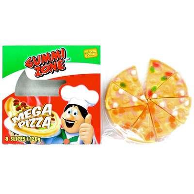 Мармелад Мега Пицца Gummi Zone Mega Pizza 120 гр, фото 2