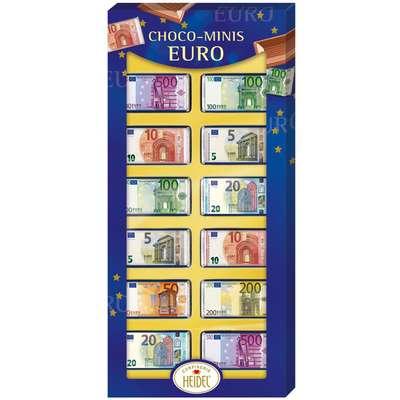 Подарочная упаковка молочного шоколада Heidel Choco-Minis Euro 36 гр, фото 1
