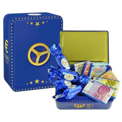 Сейф с молочным шоколадом Heidel Euro Safe 120 гр, фото 1