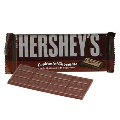 Молочный шоколад с печеньем Hershey's Cookies'n'Chocolate 43 гр, фото 2
