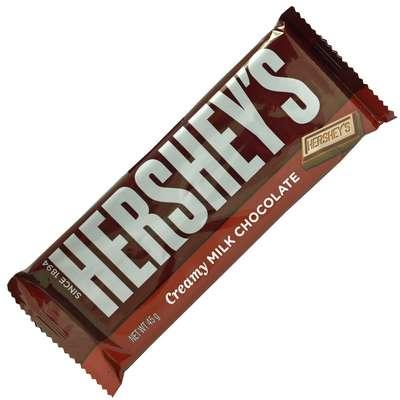 Нежный молочный шоколад Hershey's Creamy Milk Chocolate 45 гр, фото 1