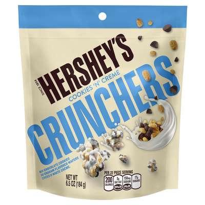 Хрустяшки в белом шоколаде Hershey's Crunchers 184 гр, фото 1