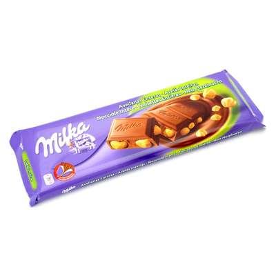 Большой молочный шоколад с цельным фундуком Whole Nuts 250 гр, фото 1