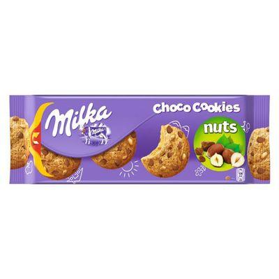 Печенье с кусочками фундука и шоколада Milka Choco Cookies Nuts 135 гр, фото 1