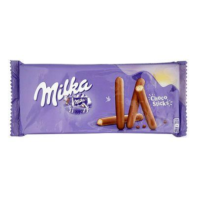Бисквитные палочки в молочном шоколаде Milka Lila Stix 112 гр, фото 2