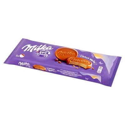 Хрустящие вафли в молочном шоколаде Milka Choco Wafer 150 гр, фото 2