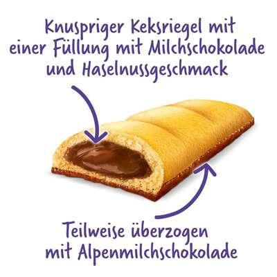 Бисквитный батончик с шоколадной начинкой Milka Tender Break 26 гр, фото 2