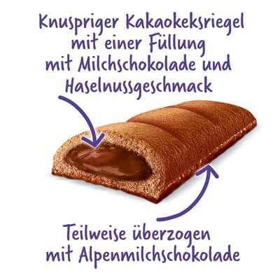 Батончик шоколадного бисквита с шоколадным кремом Milka Tender Break Choco 26 гр, фото 2