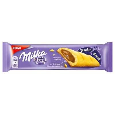 Бисквитный батончик с шоколадной начинкой Milka Tender Break 26 гр, фото 1
