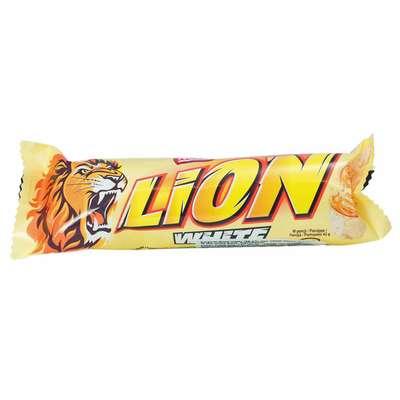 Батончик в белом шоколаде Nestle LION White 42 гр, фото 1