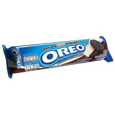 Печенье с начинкой из белого и темного шоколада Oreo Dark&White 137 гр, фото 1