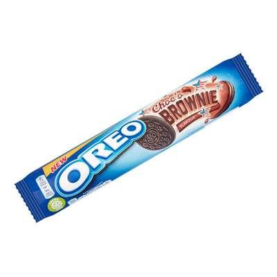 Шоколадное печенье со вкусом брауни Oreo Choco Brownie 154 гр, фото 1