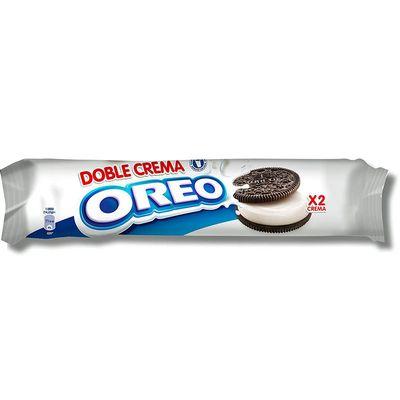 Печенье с двойной ванильной начинкой Oreo Double Creme 185 гр, фото 1