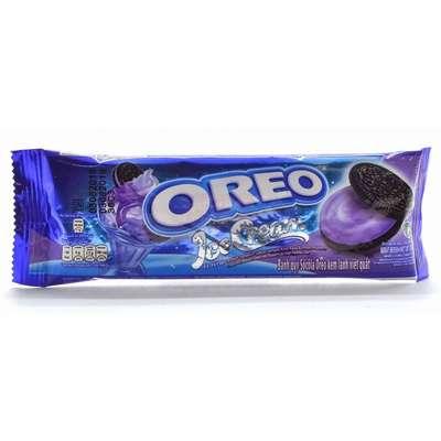 Печенье со вкусом черничного мороженого Oreo 29,4 гр, фото 1