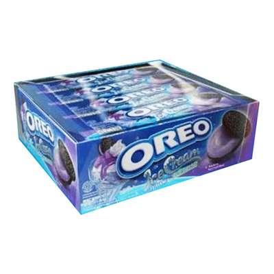 Печенье со вкусом черничного мороженого Oreo 29,4 гр, фото 2