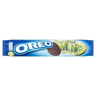 Печенье с мятной начинкой Oreo Mint Creme 154 гр, фото 1