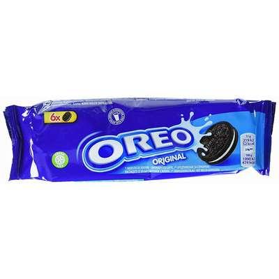 Печенье какао с ванильной начинкой Oreo Original 66 гр